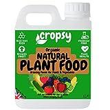 CROPSY Natural Plant Food Organic Liquid Fertiliser Outdoor...