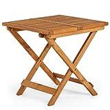 Vonhaus Adirondack Side Table, Garden/Patio/Conservatory Wooden...