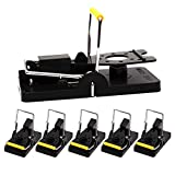 GERAWOO Mouse Trap with High Capture Rate, 6PCS Power Rat Traps...