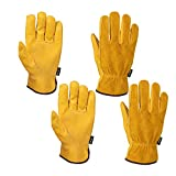 FZTEY 2 Pairs Garden Work Gloves Thorn Proof, Safety Protective...