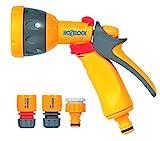 Hozelock 2347 0000 Multi Spray Watering Gun Starter Set, 205.0...