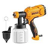 INGCO Paint Sprayer Corded Spray Gun 450W 800ml 50DIN-s Fence...