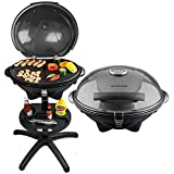 Andrew James BBQ Electric Grill Barbecue with 5 Temperature...