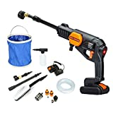 Cordless Pressure Washer Power Cleaner with battery, Pressure...