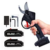HEYPORK Electric Pruning Shears Cordless, Electric Secateurs...