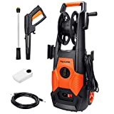 PAXCESS Electric High Pressure Washer, Jet Washer 1800W 130Bar...