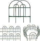 Amagabeli 18in X 50ft Decorative Garden Fence Metal Panels...