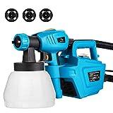 Paint Sprayer, Tilswall 800 Watt Home Electric Spray Gun Power...