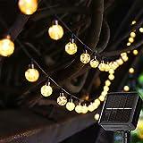 Solar String Lights 23ft 50 LED Outdoor Garden Lights Solar...
