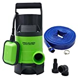 Pro-Kleen 400w Submersible Electric Water Pump with 10M Layflat...