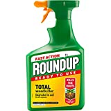 Roundup 17829 Fast Action Weed Killer, Clear, 1 Litr