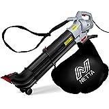 NETTA Leaf Blower and Vacuum 3 in 1 3000W With Rake - Garden Vac...