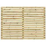 vidaXL Garden Fence Panel Sturdy Rot Resistant Durable Garden...