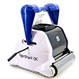 Hayward Tiger Shark QC Automatic Floor Cleaner, Black and Whi
