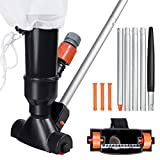 Pool Jet Vacuum Cleaner with 5 Pole Section - Portable Home...