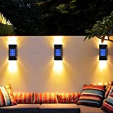 Solar Wall Lights Outdoor, Jooayou Solar Sensor Security Lights,...
