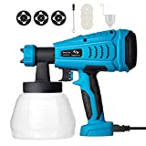 550W Paint Sprayer Tilswall HVLP Electric Paint Spray Gun with...