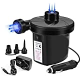Electric Pump Home/Car Use for Inflatables Quick Inflate Pump for...