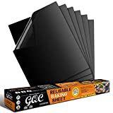 GQC Grill Mat, Set of 6 BBQ Grill Mat Non Stick Barbecue Baking...