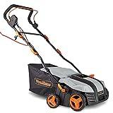 VonHaus 2 in 1 Lawn Scarifier - 1800W Electric Garden Rake with 5...