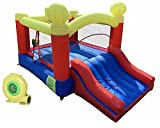 JOOLOOG Jump Slide Bouncer, Inflatable Bounce House, Blow-Up...