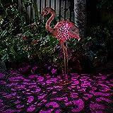 Smart Garden Solar Flamingo Silhouette Light Garden Light Figure...