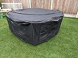 SpeedwellStar 210 cm Round Garden Table Hot Tub Large Cover...