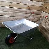 Samuel ALEXANDER 65 Litre 60kg Capacity Galvanised Metal Garden...