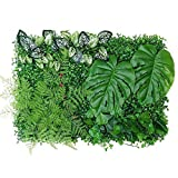 yummyfood Artificial Plant Hedges Panels UV Protected Privacy...