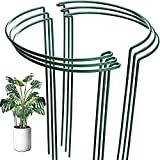 6PCS Plant Support Stake Cage Garden Peony Support Frame Green...