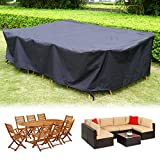 HIRALIY 300cm Garden Waterproof Furniture Cover, Extra Large Size...