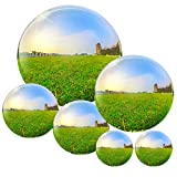 Osugin 6 Pcs Stainless Steel Gazing Ball for Home Garden Ornament...