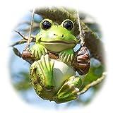 Prodbuy Hanging Frog Garden Ornamen