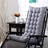 YIAI High Back Chair Cushion, Thickened Garden Chair Seat...