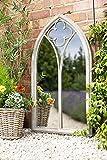 La Hacienda 55424 Garden Mirror Church Window Stone Effect...
