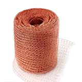 GERAWOO Pure Copper Mesh Rodent Pest Control, 20 Feet Fine Wire...