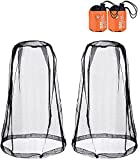 eBoot 2 Pack Head Net Face Mesh Head Cover for Outdoor Lovers...