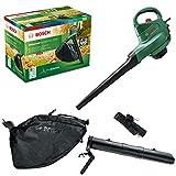 Bosch 06008B1072 Electric Leaf Blower and Vacuum...