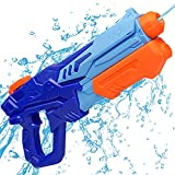 MOZOOSON Water Gun Toy for Kids, Powerful Water Pistol with 750ML...