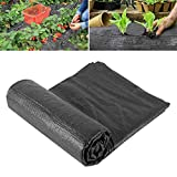 ZOJI 1m x 5m Wide Weed Barrier Control Fabric Ground Cover...