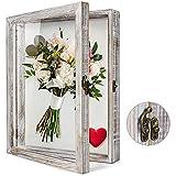TJ.MOREE Flowers Shadow Box Display Case 28x36cm Large Shadow Box...