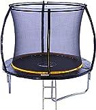 Kanga 8ft Premium Trampoline with Safety Enclosure, Net, Ladder...