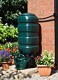 ACCURATE 100 Litre Garden Water Butt Set with stand, diverter,...