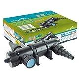 All Pond Solutions UV Light Steriliser Clarifier Filter, 18 W