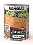 RONSEAL Ultimate Protection Decking Stain Medium Oak 5L
