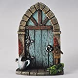 Miniature Pixie, Elf, Fairy Door - Tree Garden Home Decor - Fun...