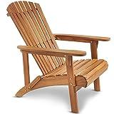 VonHaus Adirondack Chair - Outdoor Garden Furniture made from...