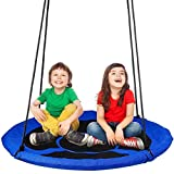 Dripex Nest Swing Children's Swing Tree Swing Seat Round swing...