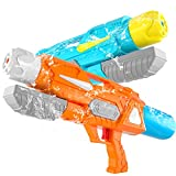 SNAEN Water Guns for Kids,2 Pack 19.7''Big Water Cannons Super...