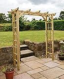 Arteixo Garden Arch Flat top with side rellis - 10 Year warranty...